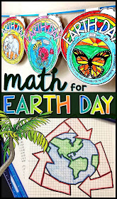 Our planet Earth is pretty spectacular. In this post are 12 cool facts about planet Earth and a couple Earth Day activities with math themes.