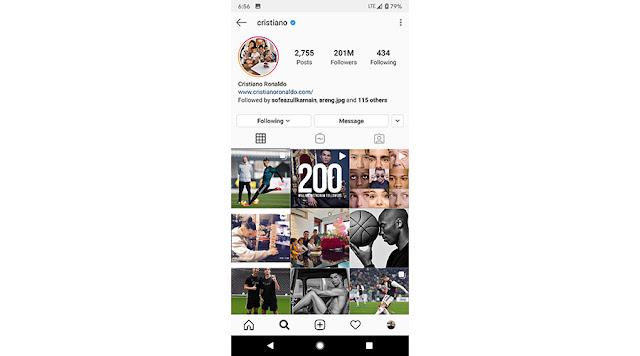 Cristiano Ronaldo Individu Pertama Yang Mempunyai 200 Juta Followers Di Instagram