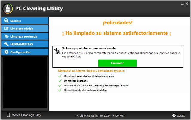 PC Cleaning Utility Full