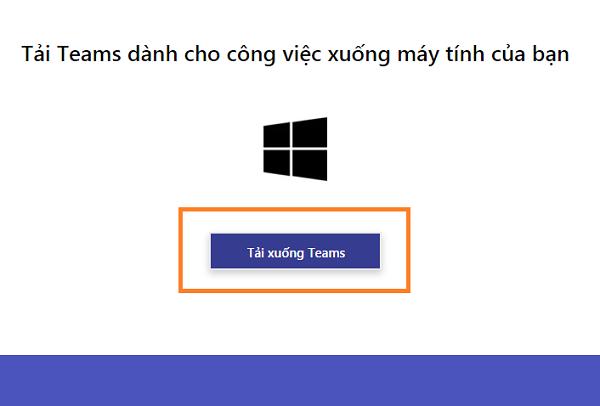 Download Microsoft Team trên máy tính, điện thoại học online miễn phí d