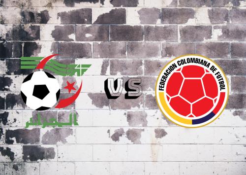 Argelia vs Colombia  Resumen