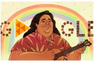 Israel Kamakawiwo'ole google doodle