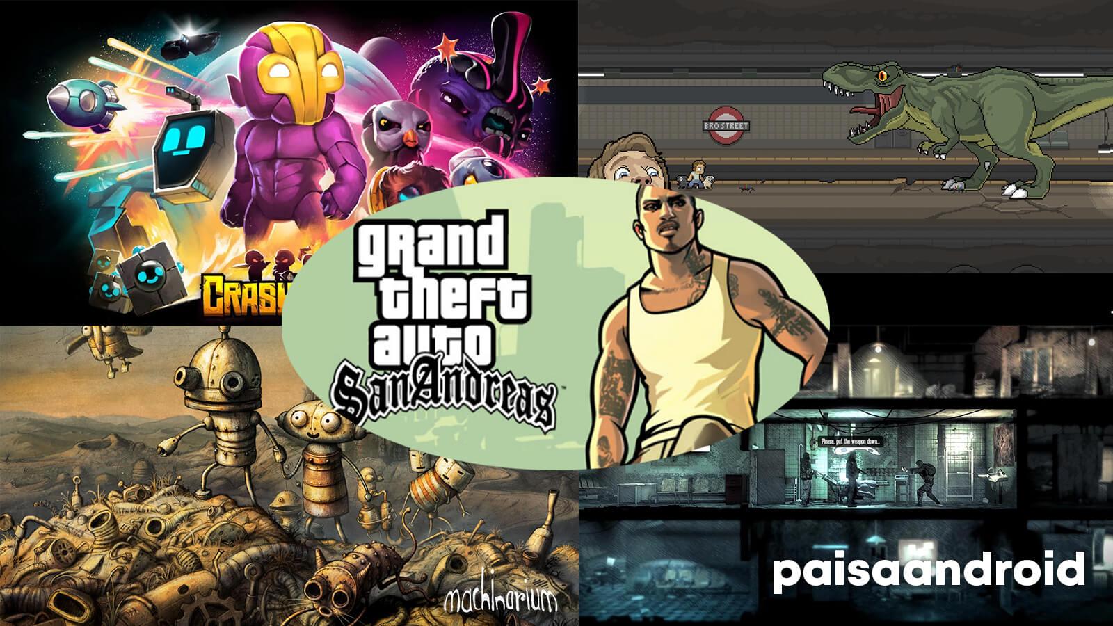 mejores juegos para jugar en android tv