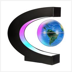 LED Magnetic Desk Globe from Gresus