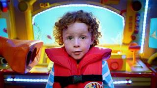 Owen, underwater O words, Sesame Street Episode 4416 Baby Bear's New Sitter season 44
