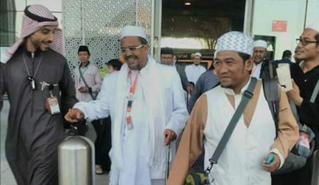 FPI Benarkan Habib Rizieq Dapat Undangan Umroh dari Raja Salman