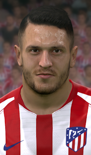 PES 2017 Faces Koke by WER