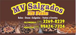 Mv Salbados, bolos, doces, festas e eventos