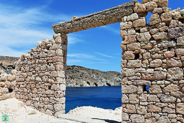 Fyropotamos, isla de Milos