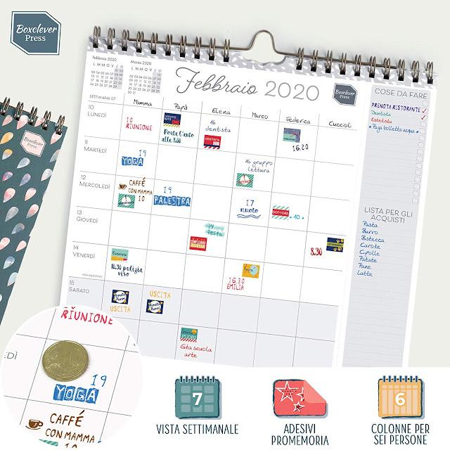 calendario planner Erik