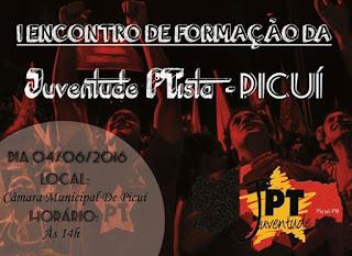 Encontro da JPT acontecerá neste sábado (04) na Câmara Municipal de Picuí
