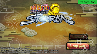 Télécharger Naruto Ultimate Ninja Heroes 2 Mod Naruto Storm 1 PPSSPP sur Android