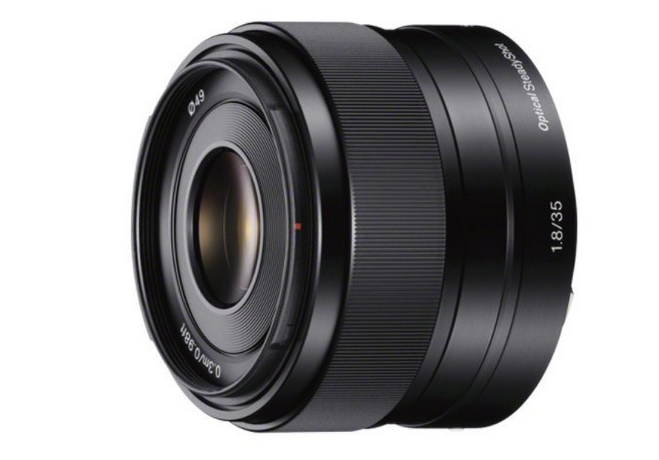 Sony E-Mount Lens 35mm f/1.8