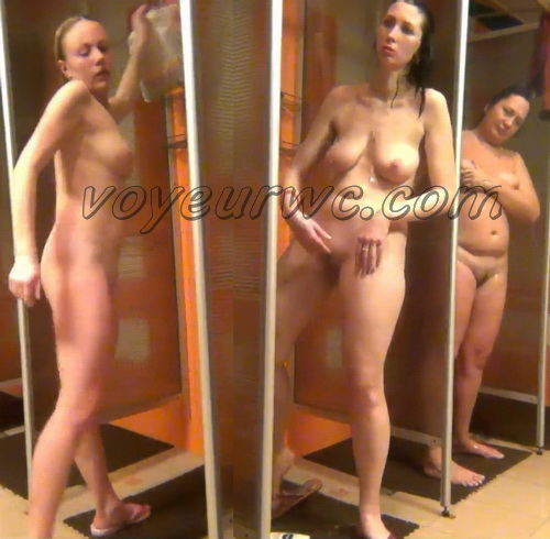 Shower Spy 140-148 (Hidden Camera in a Fitness Club Shower)