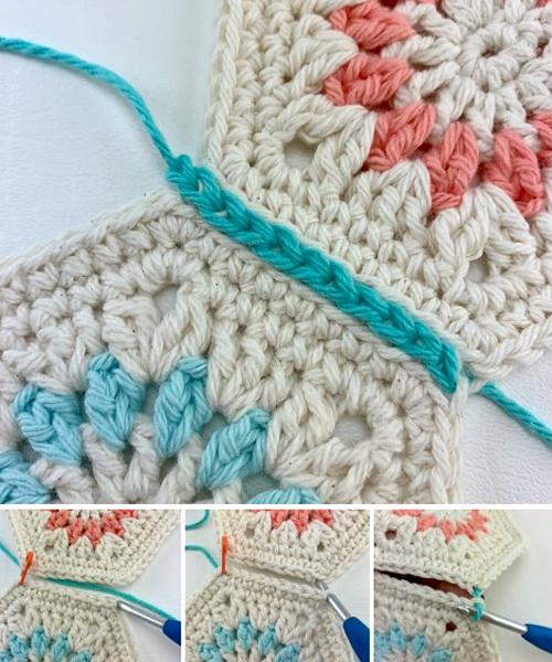 Flat Slip Stitch Seam - Free Pattern & Tutorial