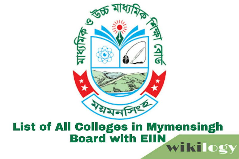 List of College in Mymensingh Board with EIIN & all Govt College