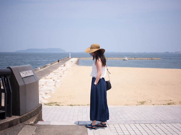 Outfit: culottes debut in Fukuoka
