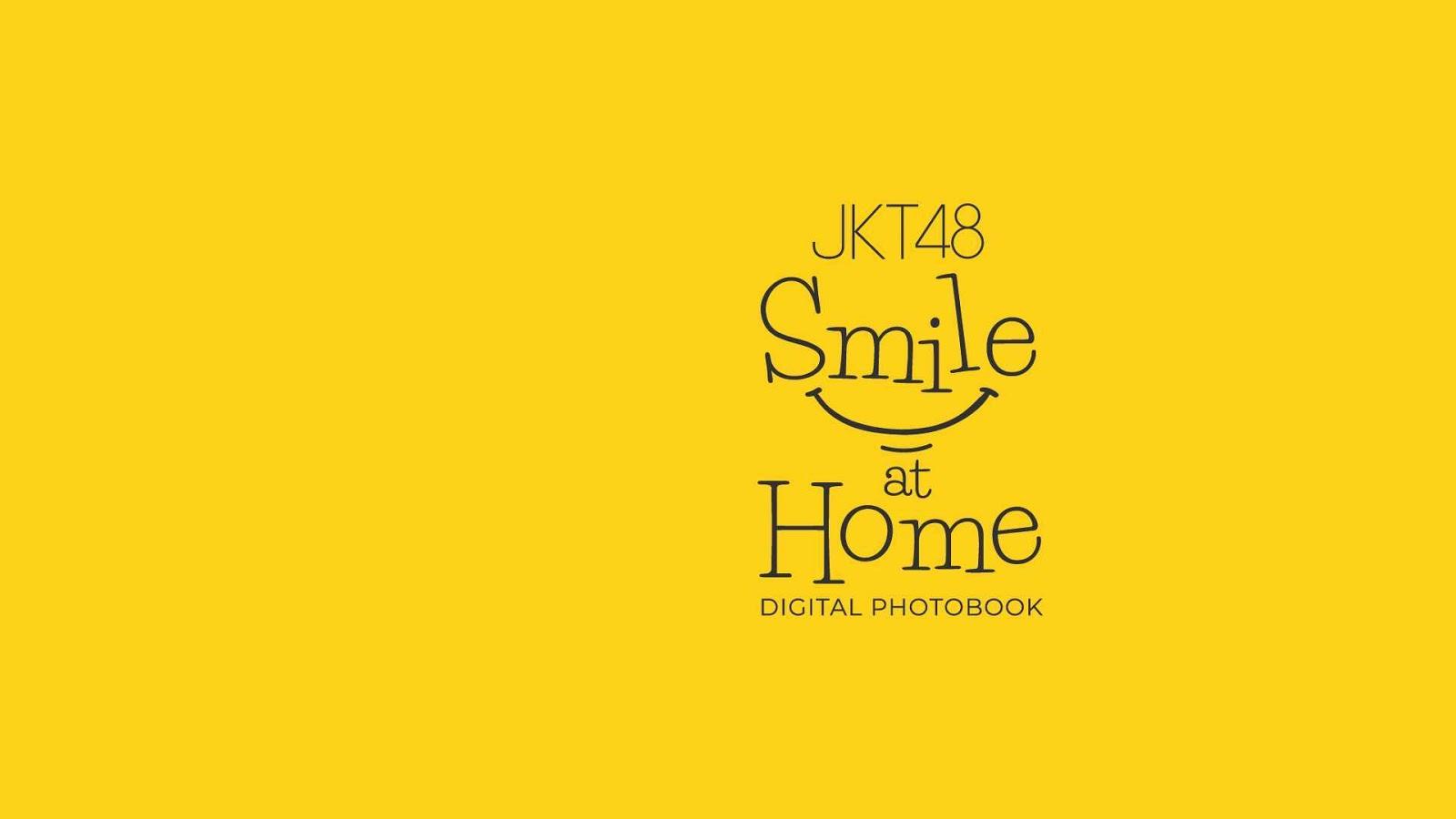 JKT48 Digital Photobook Smile at Home