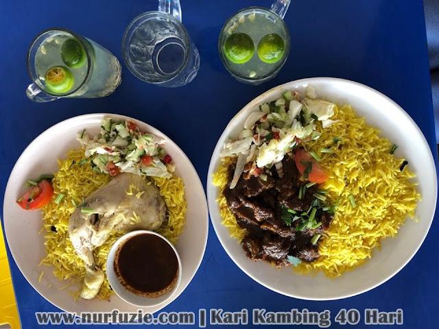 Nasi Arab Restoran Kari Kambing 40 Hari Di Johor