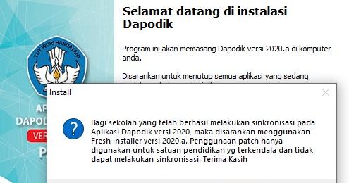 Baca dulu sebelum install dapodik 2020.a - Edukasinfo.Net