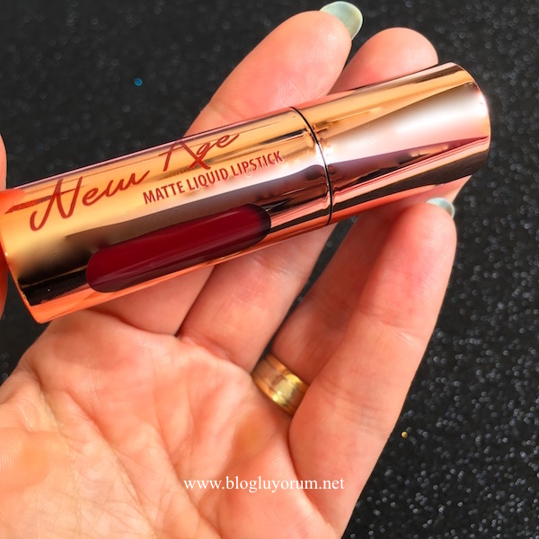 flormar new age matte liquid lipstick 06 seductive cherry