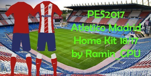 Atletico Madrid Kit PES 2017