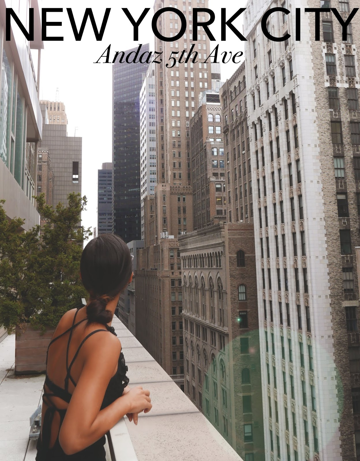 Euriental | fashion & luxury travel | Andaz 5th Avenue Terrace Suite, New York