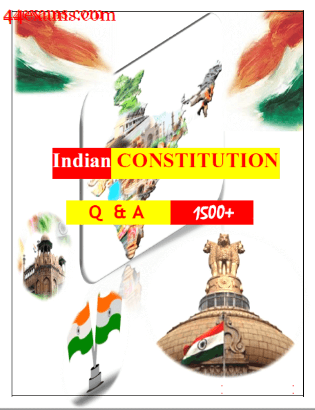 Indian-Constitution-1500-Questions-and-Answers-For-All-Competitive-Exam-PDF-Book