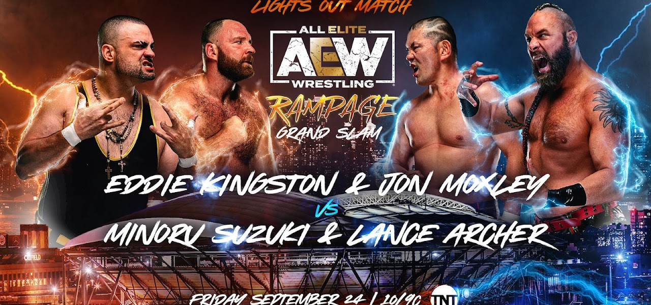 Lights Out Match e outras lutas são anunciadas para o AEW Rampage Grand Slam