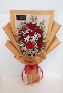 buket mawar
