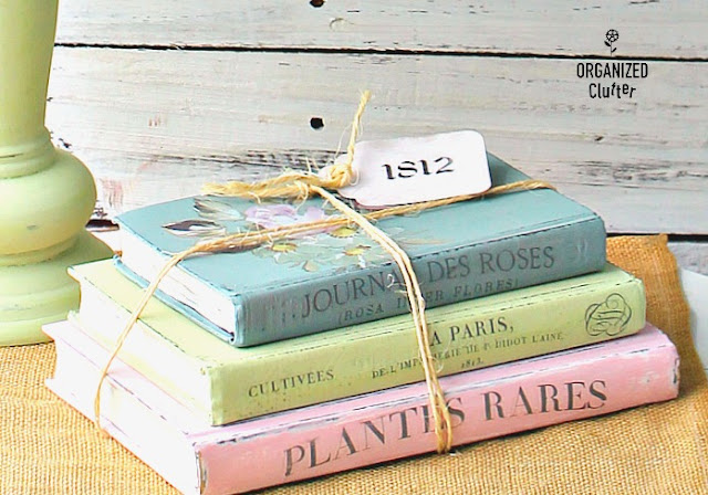 Upcycled Thrift Shop Books