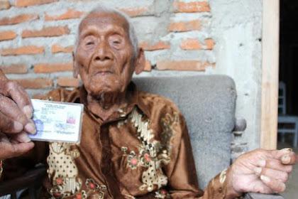 WOW! Kisah Fantastis Mbah Gotho, Pria Yang Diduga Manusia Tertua Di Dunia, Usianya Sudah Mencapai 146 Tahun!