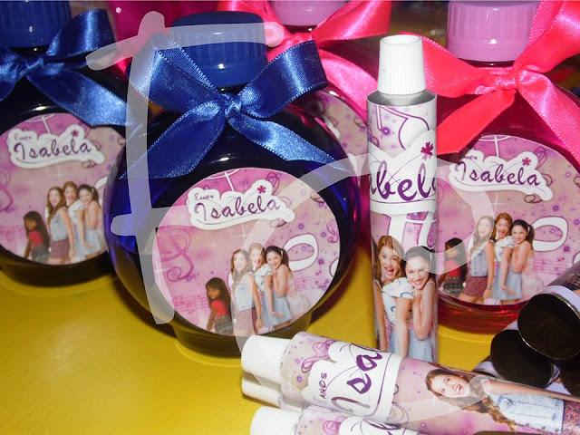 Lembranças Personalizadas - Tema Violetta