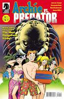 Archie vs. Pradator #1 by Alex de Campi, Fernando Ruiz, Rich Kozlowski, Jason Miller.