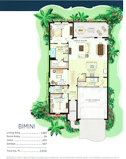Watercrest Venice FL Bimini floor plan