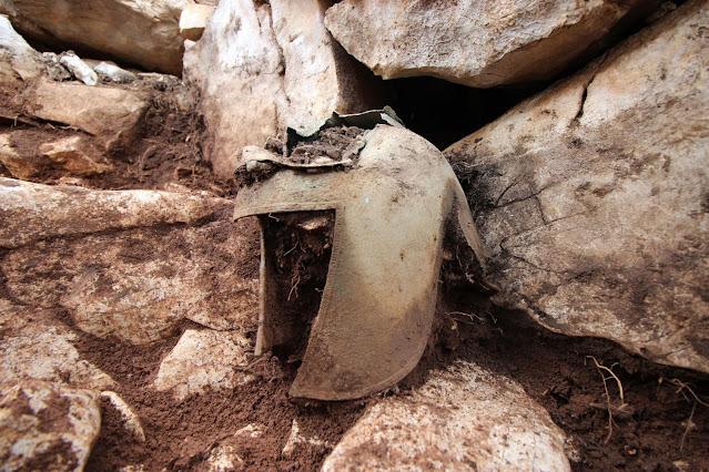 Greek-Illyrian helmet found in southern Dalmatia
