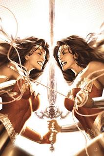 Ilustración de marvel comics - la mujer maravilla