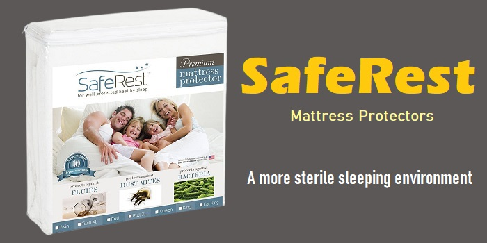 SafeRest - Hypoallergenic Waterproof Mattress Protector