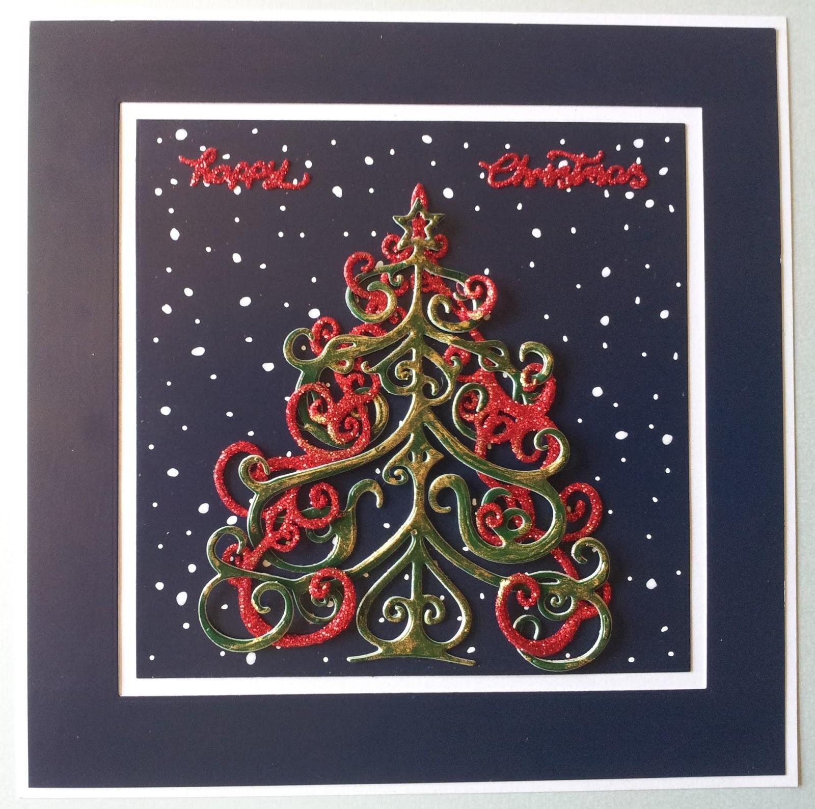 barnsley crafter o christmas tree