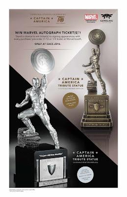Si festeggiano i 75 anni di Capitan America con la Comicave Studios