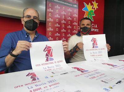 PRESENTACIÓN: 6-12 octubre, Open Internacional de La Nucía, el próximo gran evento en la Comunidad Valenciana