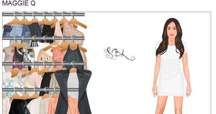 Maggie Q Hairstyle: Stardoll's Black: New Doll: Maggie Q