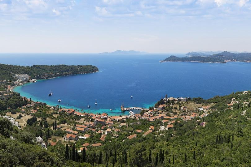 اجمل الجزر في دوبروفنيك كرواتيا