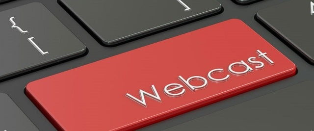 what is webcasting online presentation live streaming internet video