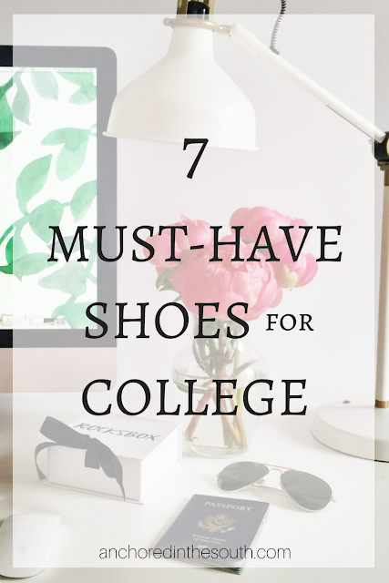 7 Must Have Shoes for College
