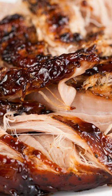 Crock-Pot Brown Sugar & Balsamic–Glazed Pork Tenderloin