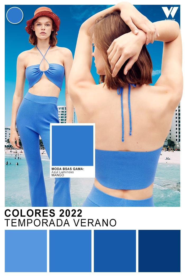 colores de moda zules primavera verano 2022 colores