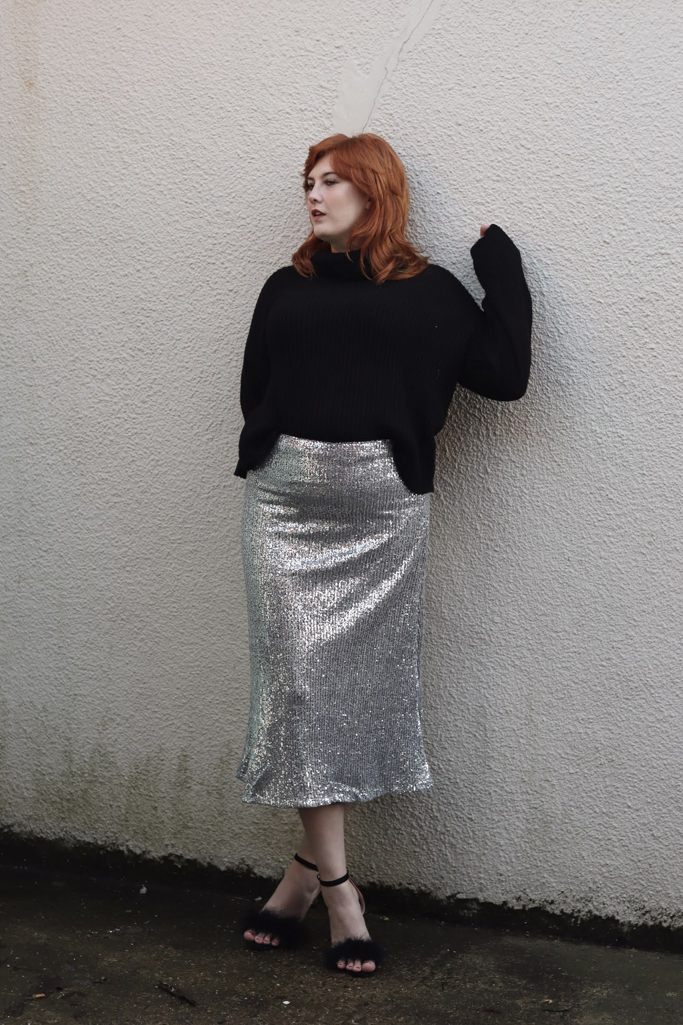 Sequin Skirt And Jumper