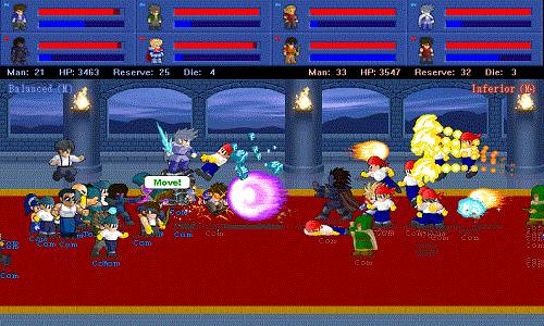 Little Fighter 2 Night Game Free Download