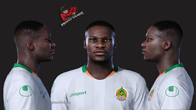 PES 2021 Faces Khouma Babacar by Prince Hamiz